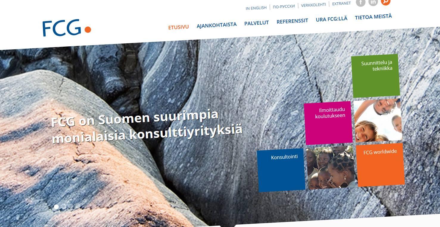 FCG Finnish Consulting Group Oy verkkopalvelu