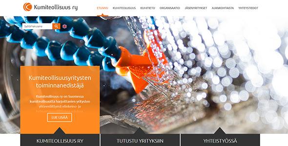 Kumiteollisuus - verkkosivut