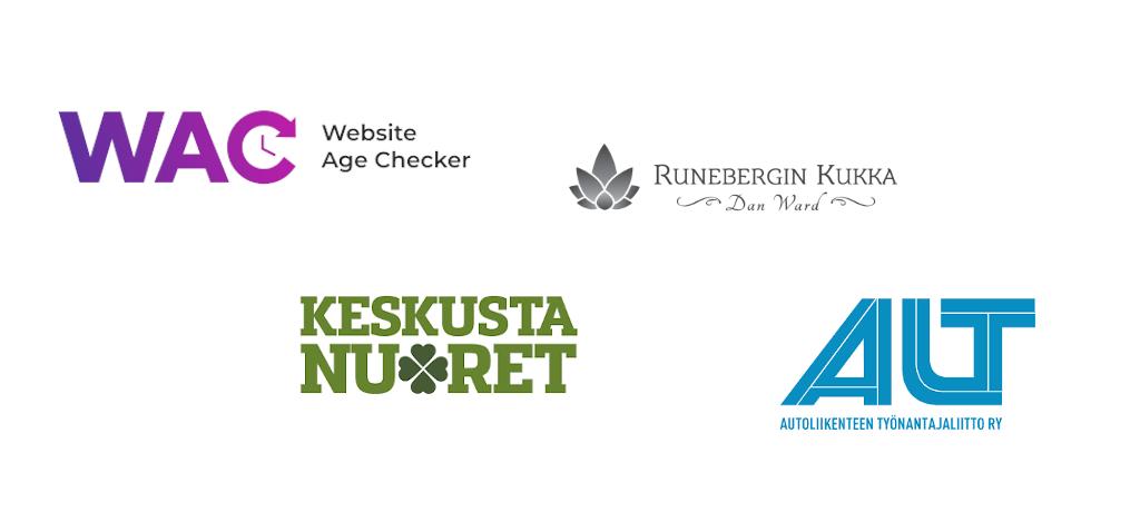 Verkkovaraanin kevään -20 projekteja: Website Age Checker, ALT, Keskustanuoret, Runebergin kukka